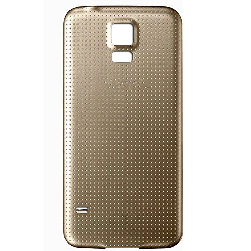 UU FIX Tapa de Batería para Samsung Galaxy S5 i9600 i9005 (Dorado)...