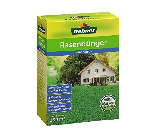Dehner Rasendünger mit Langzeitwirkung, mineralisch, 6 kg, für ca. 250 qm