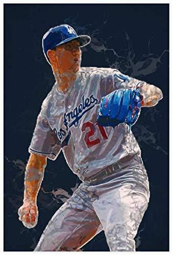 Diy Pintura Diamante Por Kit Walker Buehler Baseball Sport 5d Diamond Painting Taladro Completo Diamante Bordado Kit 23.6'x35.4'(60x90cm) Sin Marco