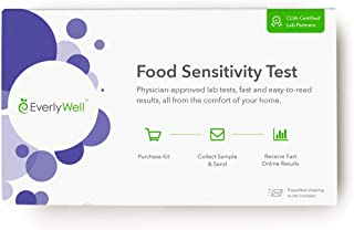 Everlywell Food Sensitivity Test - at Home - CLIA-Certified Adult Test - Personalized, Accurate Blood Analysis (96 Foods) - Not Available in NY/NJ/RI