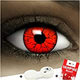 Farbige rote Kontaktlinsen Devil