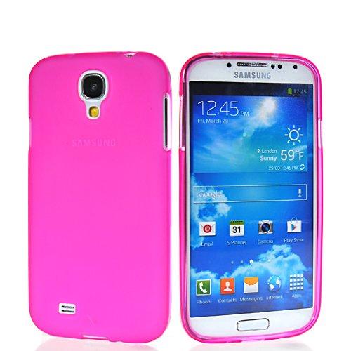 HKCFCASE Carcasa trasera de gel TPU para Samsung Galaxy S4 I9500, color rosa