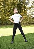 Covalliero Basic Plus - Pantaloni da Equitazione per Bambini, Bambini, Pantaloni da Equitazione, 321003-4, Nero, 164