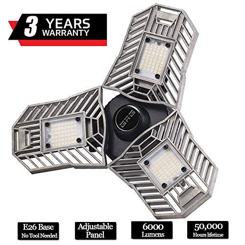 Our #7 Pick is the Mopzlink LED Garage Lights