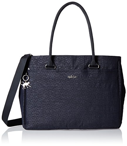 Kipling - Artego, Bolsas para portátil Mujer, Black (Basket Shimmer), 39x28.5x15 cm (W x H x L)