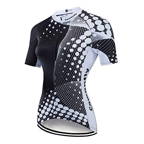 Yuefensu Conjunto De Jersey De Ciclismo Mujer Ropa De La Bici Ropa De La Bici Bicicleta Traje Traje Traje Traje De Montar En Bicicleta Maillot Ciclismo Mujer (Color : A1, Size : L)