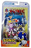 Sonic 3' Action Figure Comic Book Pack, Sonic and Blaze