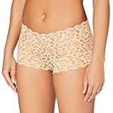 Maidenform Sexy Must Haves-Lace Cheeky Shorts, Beige (Beige Paris Nude WR), (Talla del...