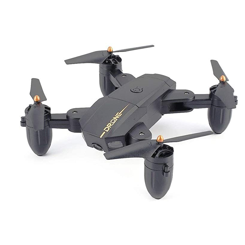 Mpotow 2.4G RC Quadrocopter with NO Camera Foldable Drone Smart Altitude Hold Headless Mode 3D Flips One Key Take Off Drones with LED Light Easter Gift