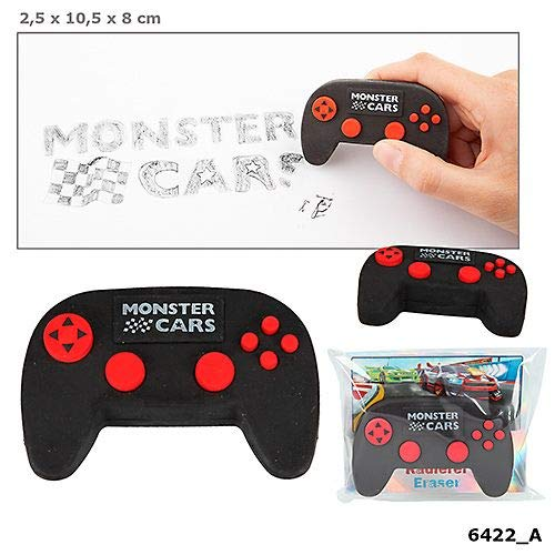 Monster Cars Radierer in Controller-Form Depesche Biz NEU