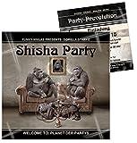 Unser-Festtag Shisha Party Einladung Geburtstagseinladungen runder Geburtstag lustig - mit Spruch - 40 Karten