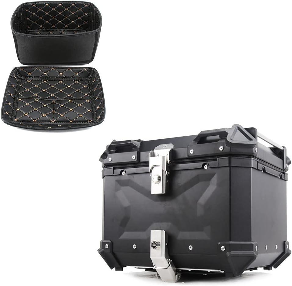 Motorcycle Top Case Hard Popular overseas Tail Bike Mount Box Luggage H Rack Free Shipping Cheap Bargain Gift