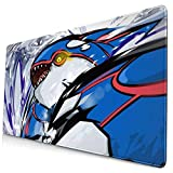 Kyogre Po-Ke_Mon Large Gaming Mouse Pad,with Non-Slip Computers Laptop Office&Home 750×400×3mm (29.5×15.8×0.12 Inch)