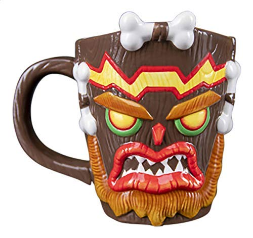 Paladone - Taza 3D Crash Bandicoot Uka Uka (PS4)