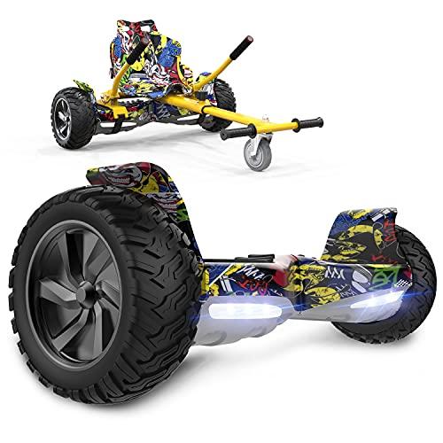 GeekMe Gyropode Auto-équilibré Scooter électrique 8,5 '' Tou