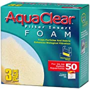 Aquaclear 50-Gallon Foam Inserts, 3-Pack