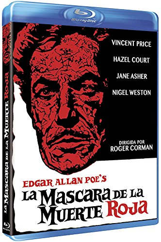 The Masque of the Red Death - La Máscara De La Muerte Roja (Bluray) - Roger Corman - Vincent Price.