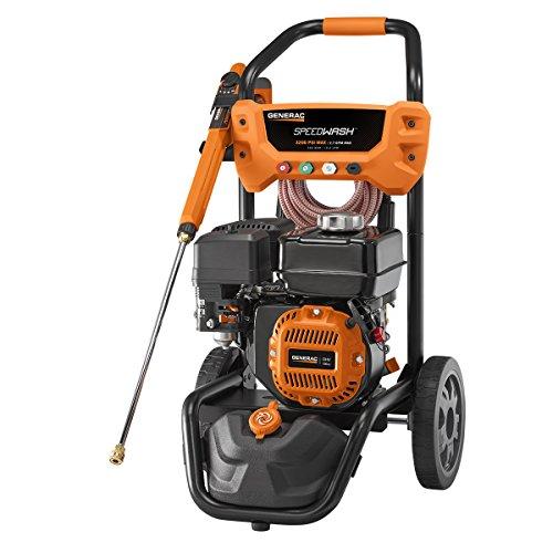 Generac 7122 SpeedWash, 3200 PSI, Orange
