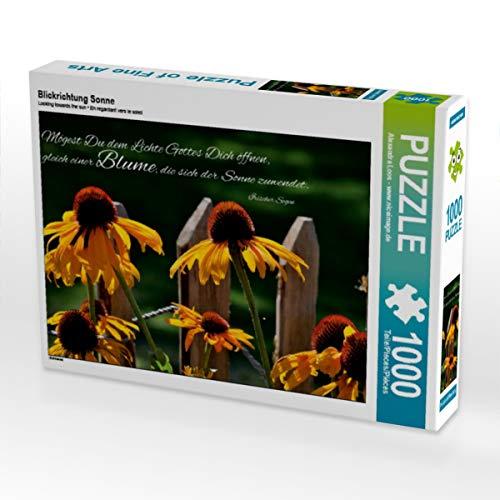 CALVENDO Puzzle Blickrichtung Sonne 1000 Teile Lege-Größe 64 x 48 cm Foto-Puzzle Bild von niceimage