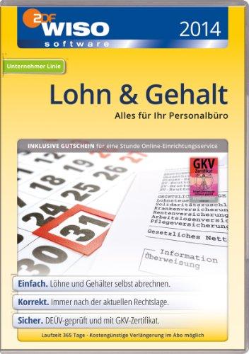 Buhl Wiso Lohn und Gehalt 2014 [import allemand]