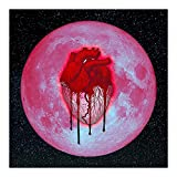 Heartbreak on a Full Moon Chris Brown Album Cover Art Poster and Wall Art...