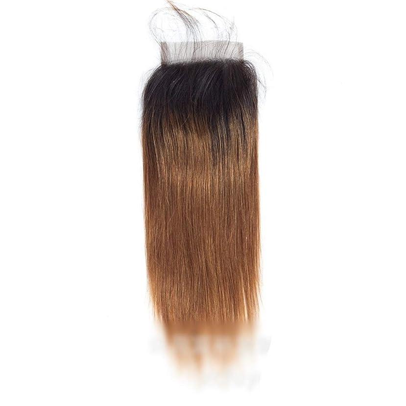 根拠俳句無礼にHOHYLLYA ブラジルストレート横糸人間の髪の毛4 x 4