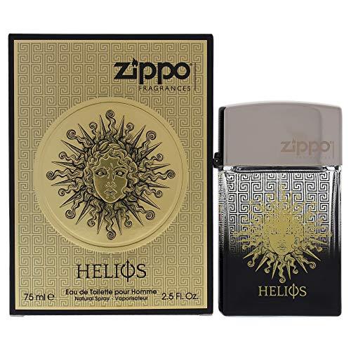 Zippo Profumi Helios Pour Homme Eau de Toilette ml.75 2.5 Fl.Oz Spray