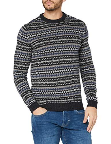 ESPRIT 110EE2I309 Pullover, 013/antracite 4, L Uomo