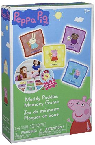 Peppa Pig Muddy Puddles Memory Board Game