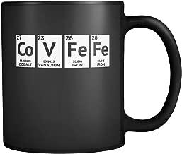 Covfefe Coffee Mug Covfefe Mug Chemistry funny Donald Trump Meme Twittter Black Ceramic 11 oz Coffee Mug / Tea Cup made in the USA by Awesome eMERCHency