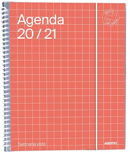 Agenda Universal 2020-2021 Semana Vista - Additio A141-SV