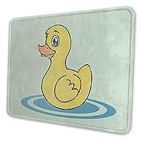 ゲーミングマウスパッド - アヒル マウスパッド おしゃれ ゲームおよびオフィス用/防水/洗える/滑り止め/ファッショナブルで丈夫 25x30cm