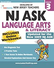 Nj Ask Practice Tests And Online Workbooks: Language Arts Literacy Grade 3, Second Edition: Developed By Expert New Jersey Teachers