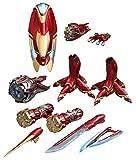 Accesorios para figuras Iron Man Mark L. Vengadores: Infinity War. Hot Toys