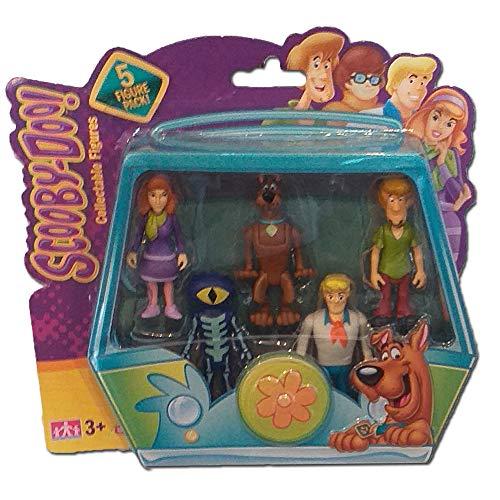 Character Options Paquete de Figuras de Scooby Doo 5 (Daphne, Scooby, Shaggy, Eye Monster, Fred)