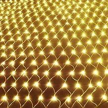 200//880 LED Innen Außen Lichternetz Lichtervorhang Lichterkette Weihnachten Deko