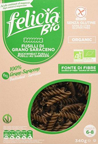 Felicia Fusilli Pasta di Grano Saraceno, senza Glutine, 340g