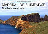 Madeira - Eine wunderschoene Perle im Atlantik (Tischkalender 2022 DIN A5 quer): Die bezaubernde Blumeninsel Madeira verzueckt uns mit wundervollen Bildern aus ihrer faszinierend vielfaeltigen Natur. Ein kleines Paradies mitten im Atlantik! (Monatskalender, 14 Seiten )
