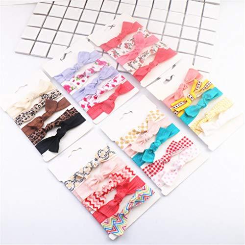 Haarelastiekjes voor meisjes, armband voor haaraccessoires, paardenstaart, rubber, haarelastiek, elastische banden, haarbandjes, 30 stuks A
