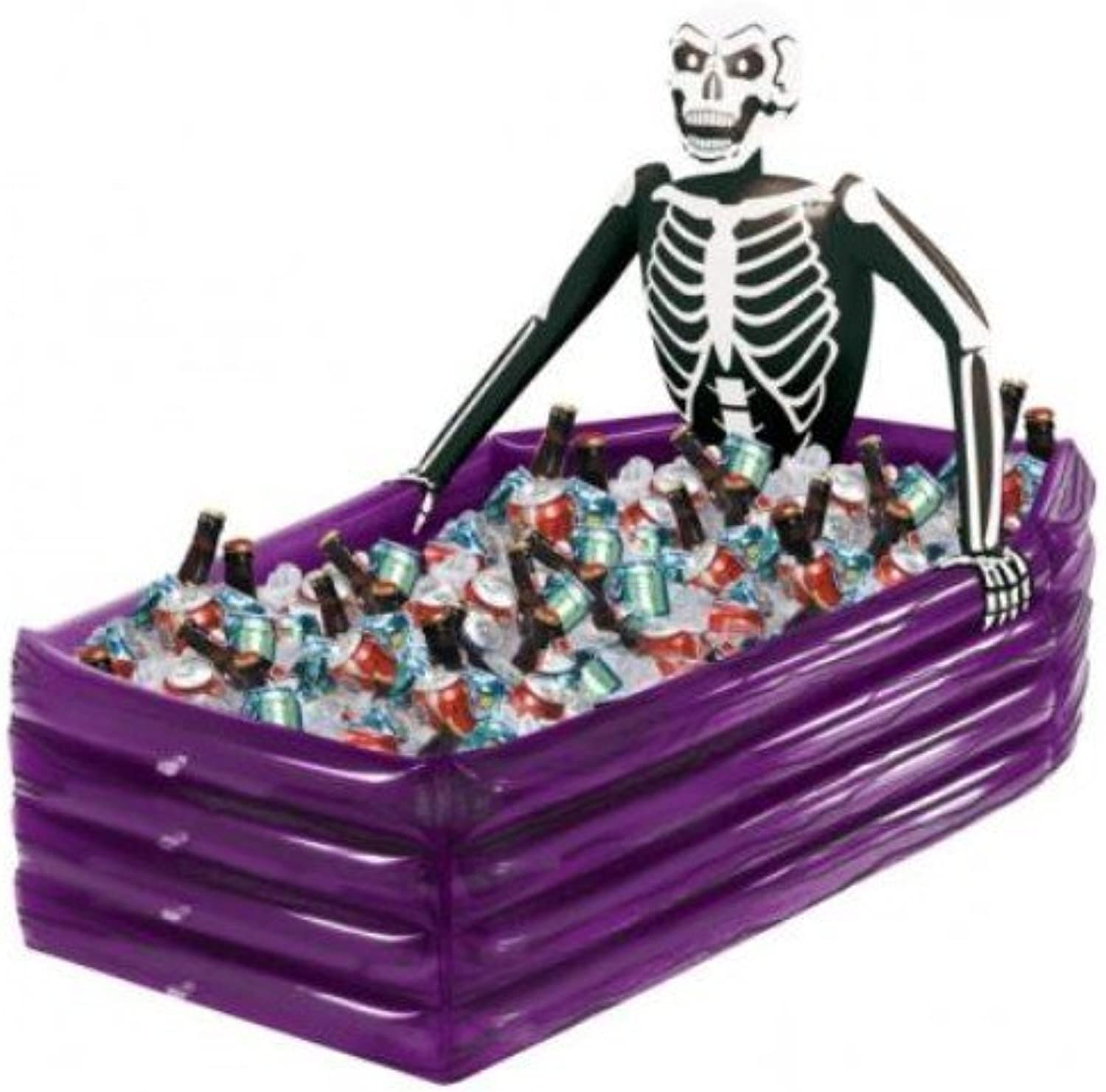 Skeleton Inflatable Cooler for Halloween Fancy Dress Accessory