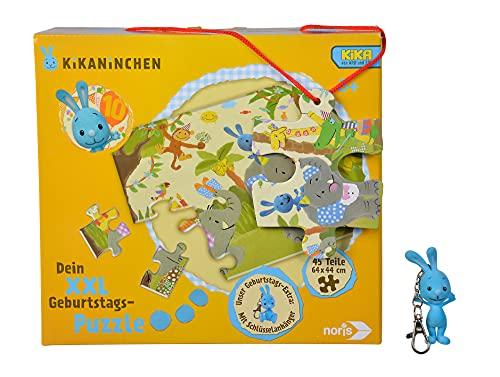 noris- XXL Riesenpuzzle Kikaninchen - Puzzle Gigante (45 Piezas, 64 x 44 cm), diseño de Conejo, Color 1. (606031719)