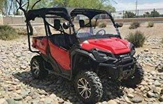 Fits Honda for Pioneer 1000-5 Canvas Soft Top Roof 5 Seater Dragonfire Racing 2016-2019