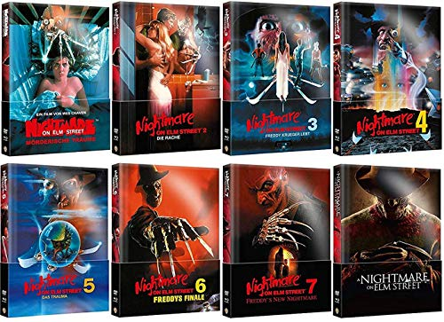 Nightmare on Elm Street 1-8 Collection Wattiert [Mediabook Set]
