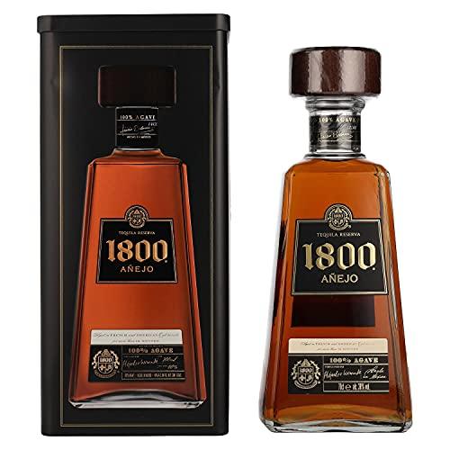 1800 José Cuervo 1800 Tequila Reserva Añejo 100% Agave 38% Vol. 0,7L In Tinbox - 700 ml