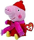 Ty peluche - Peppa Pig invierno Winter 16.cm - Peppa Pig Serie