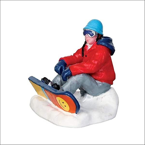 Lemax Village Collection Snowboarding Breather 42221