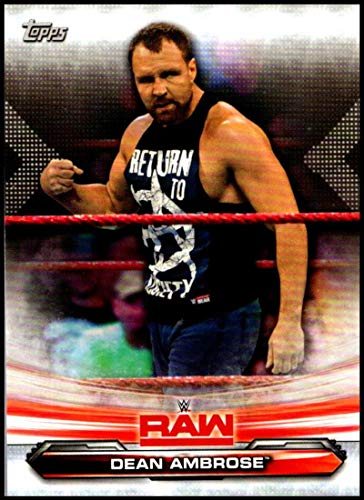 dean ambrose trading cards - 4