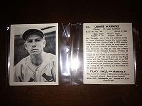 1939 Play Ball Reprint 1988 St. Louis Cardinals Team Set 8 Cards MINT