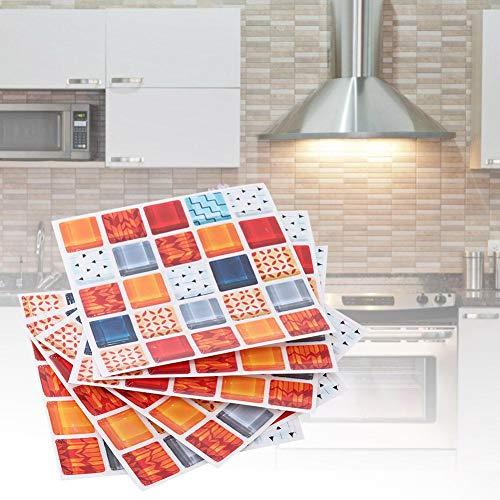 Raguso Etiqueta engomada del mosaico de la etiqueta de la pared del hogar para el baño (FX715)