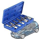 Juego de 10 puntas de estrella Torx de tipo E de juego de puntas para destornillador para reparación y mantenimiento de coches